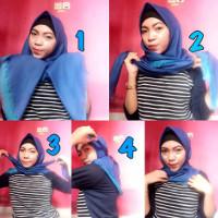 tutorial hijab kekinian instagram 18