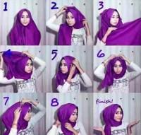 tutorial hijab kekinian instagram 3