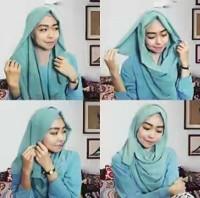tutorial hijab kekinian instagram 4