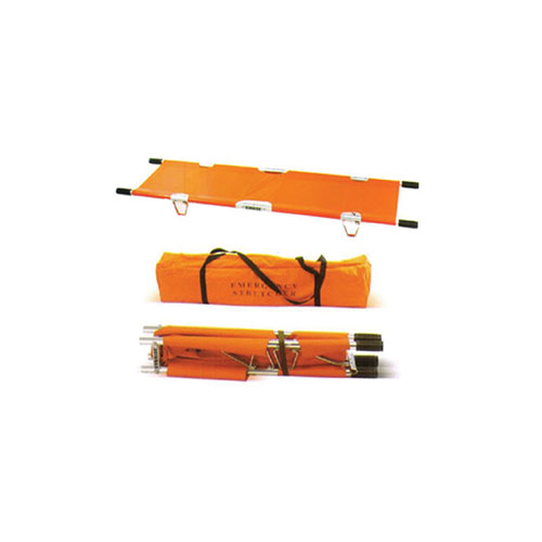 40-1001 2-Fold Emergency Stretcher with Carrying case
