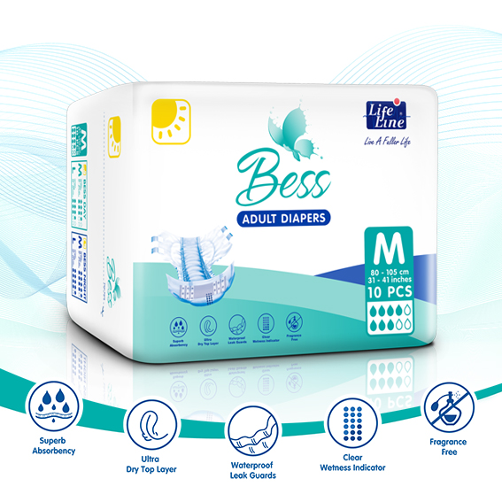 Bess Adult Diaper – DAY
