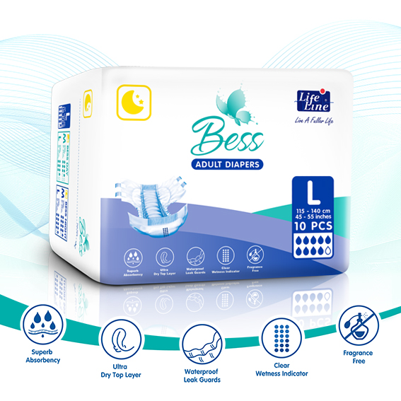 Bess Adult Diaper – Night