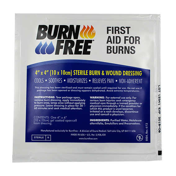 burnfree-dressing-4×4