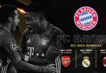 jadwal ICC 2019 Bayern Munchen
