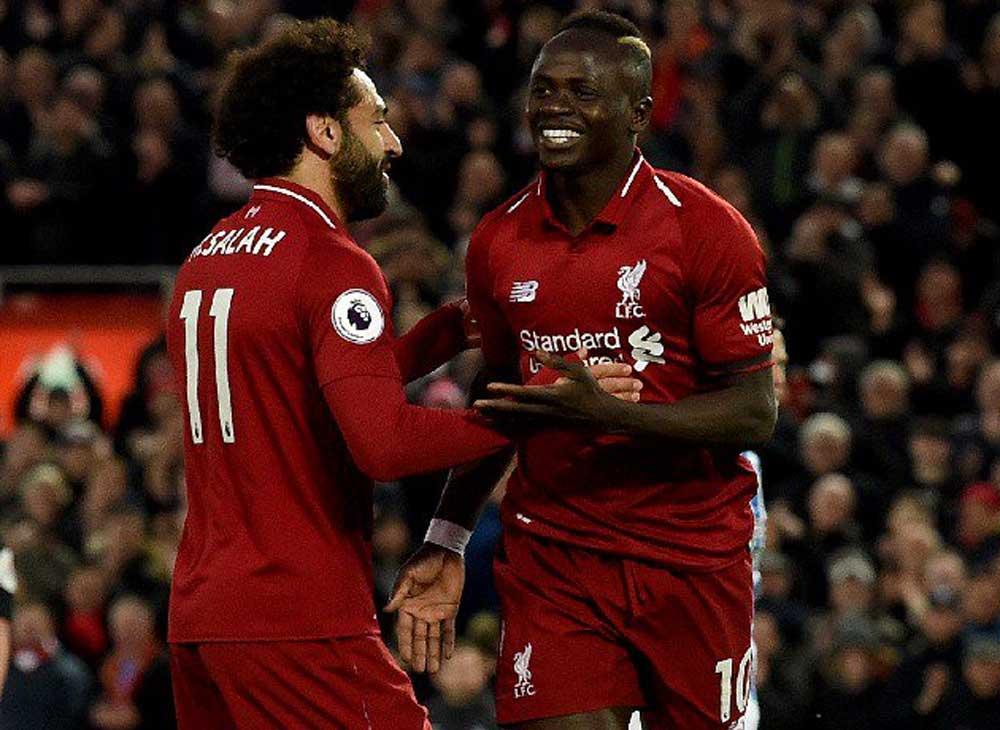 mohamed salah dan sadio mane akan jadi andalan Liverpool dalam membongkar lini pertahanan Manchester Uniter