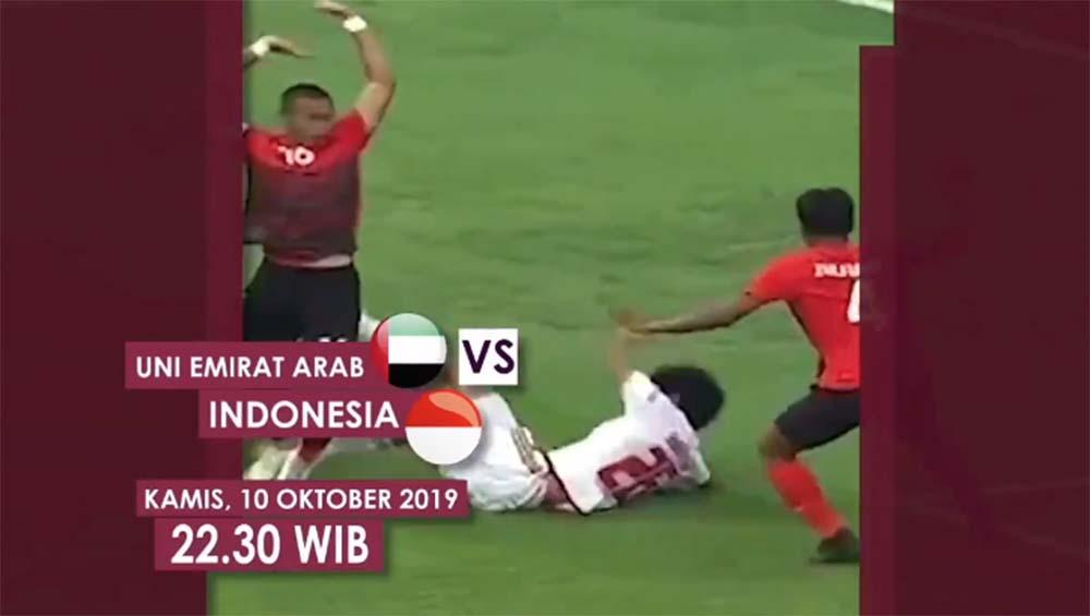 jadwal timnas indonesia vs uea