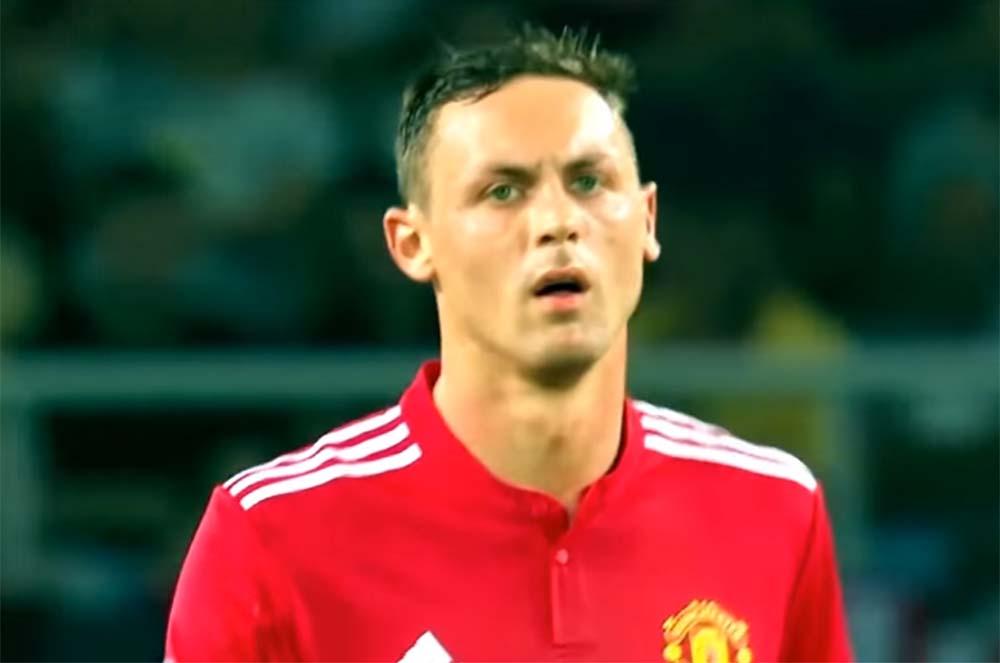 foto Nemanja Matic, pemain Manchester United