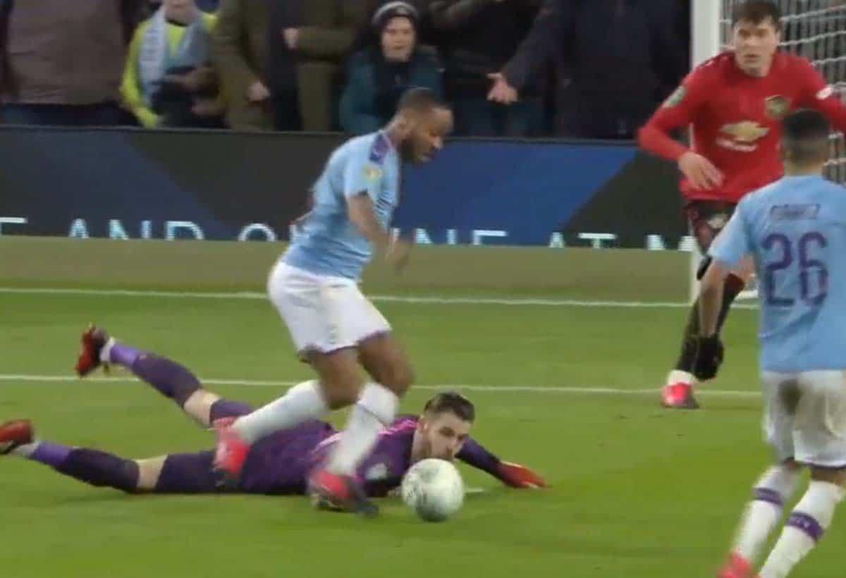 Penampilan David De Gea di Pertandingan Manchester City Vs Manchester United