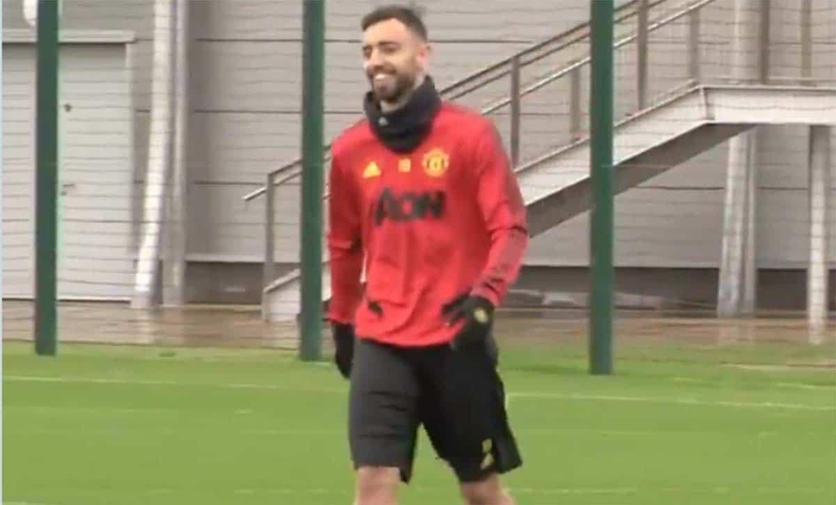 Bruno Fernandes mulai berlatih bersama Manchester United