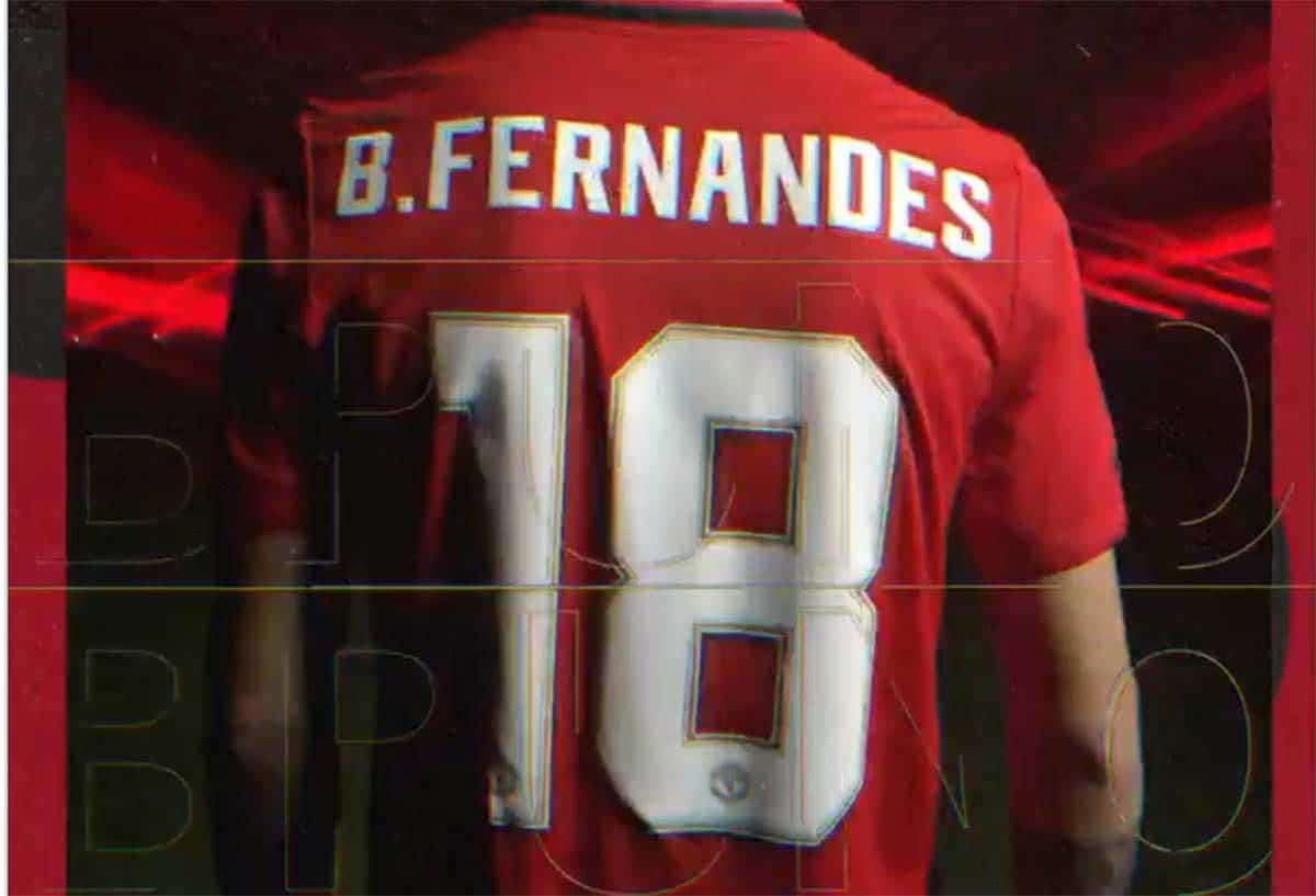 Manchester United Umumkan Nomor Punggung Bruno Fernandes