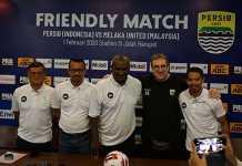 preskon Persib Bandung Vs Melaka United