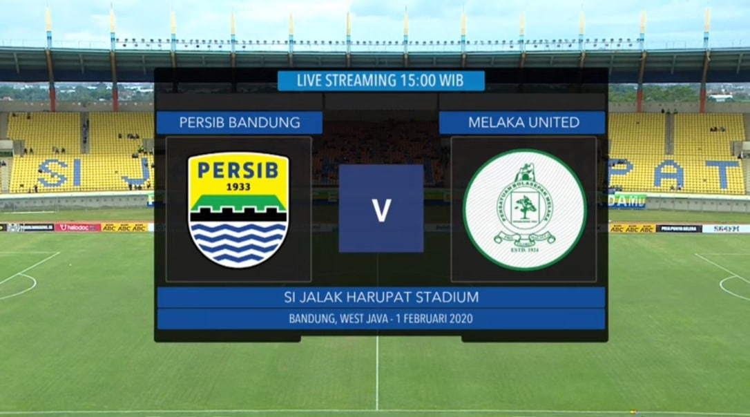 link live streaming persib vs melaka united