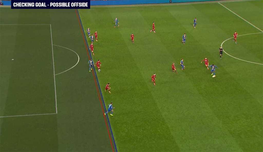 Gol Shrewsbury Town ke gawang Liverpool dianulir oleh wasit setelah melihat VAR