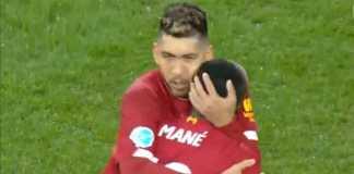 selebrasi gol Sadio Mane Norwich vs Liverpool