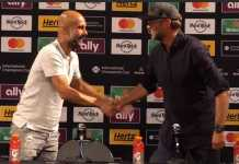 foto Pep Guardiola and Jurgen Klopp