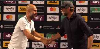 foto Pep Guardiola and Jurgen Klopp