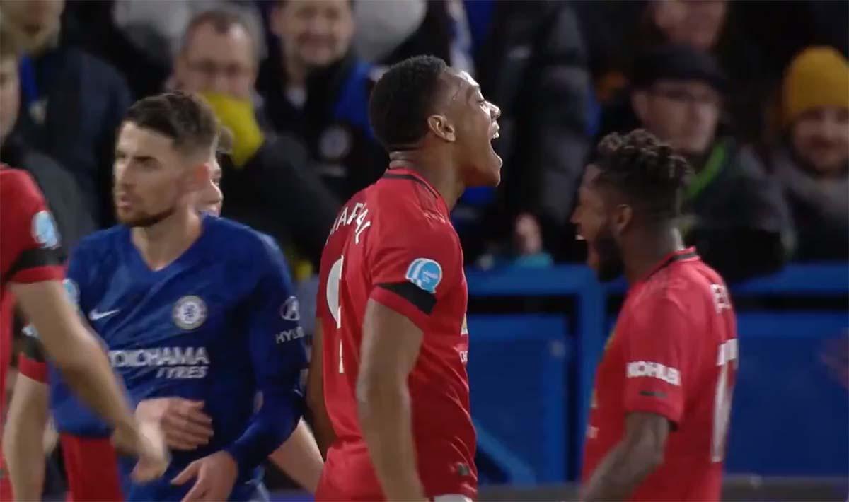 Cetak Gol Di Kandang Chelsea Anthony Martial Sejajar Dengan