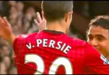 foto Robin van Persie - Manchester United
