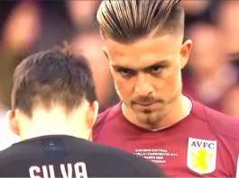 foto jack grealish - pemain Aston Villa