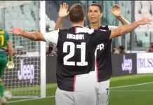 Ronaldo dan Higuain - Hasil Juventus Vs Lecce