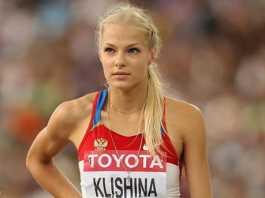Foto Daria Klishina, atlet cantik Rusia Yang Pilih Tinggal Di Amerika Serikat