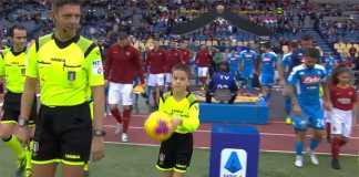 link live streaming napoli vs as roma