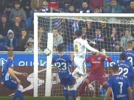 Putaran pertama Alaves Vs Real Madrid, hasil pertandingan 1-2