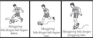 Teknik Dasar Menggiring Bola