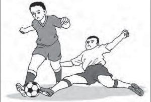 Teknik Dasar Menyapu Bola