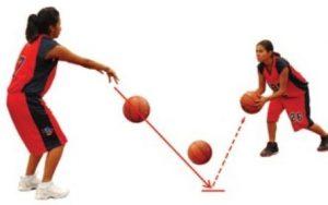 Teknik Bounce Pass