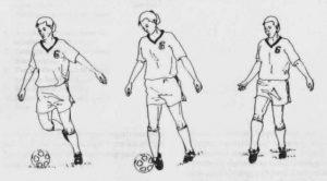 Teknik Menendang Bola Menggunakan Kaki Luar