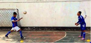 Teknik Heading atau Menyundul Bola
