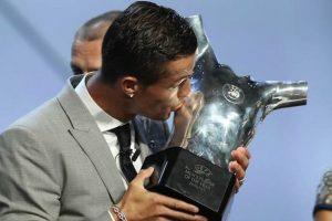 Cristiano Ronaldo Pemain Terbaik Eropa 2017