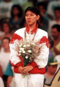 Susi Susanti Medali Emas Olimpiade Barcelona 1992