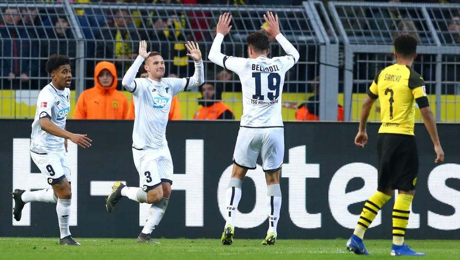 Ishak Belfodil yang gagalkan kemenangan Borussia Dortmund