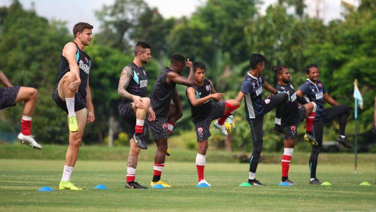 Kondisi Latihan Tim PSM Makassar (Indosports)
