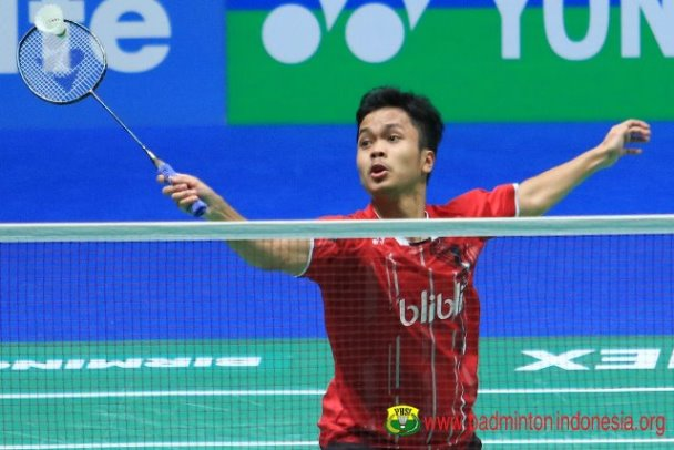 Runner Up Singapore Open 2019, Ginting Peringkat 7 Dunia