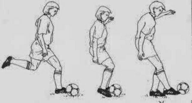 Cara Menendang Agar Bola Melambung Tinggi Ke Atas