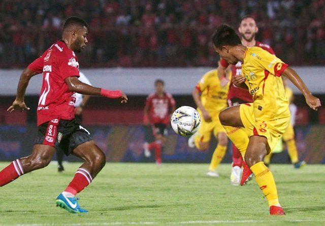 Yabes Roni jadi penentu kemenangan Bali United atas Bhayangkara FC