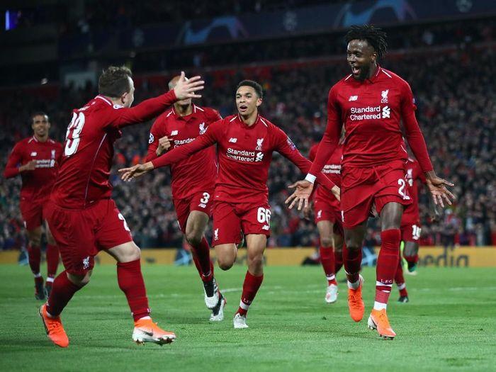 Divock Origi jadi penentu kemenangan Liverpool atas Barcelona