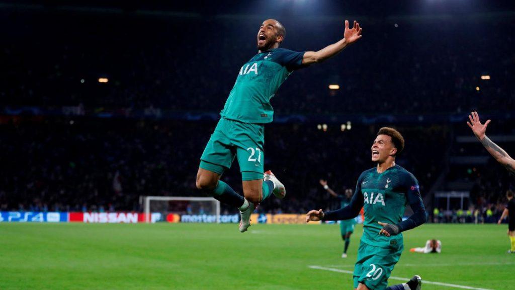 Lucas Moura cetak gol di detik akhir yang antarkan Tottenham ke final Liga Champions