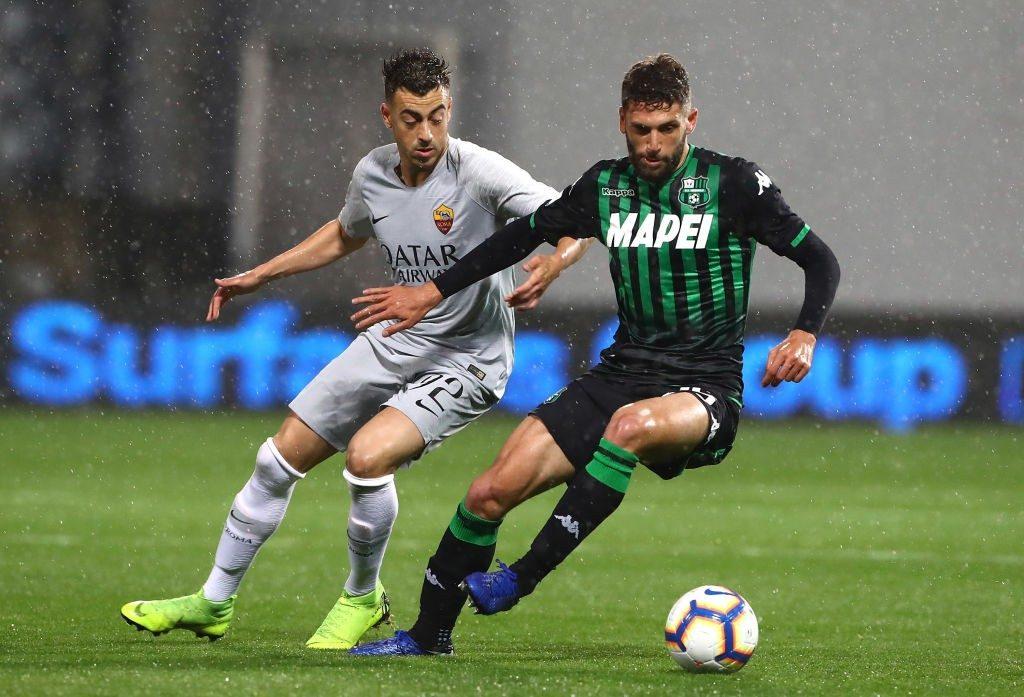 Sassuolo tahan imbang AS Roma 0-0