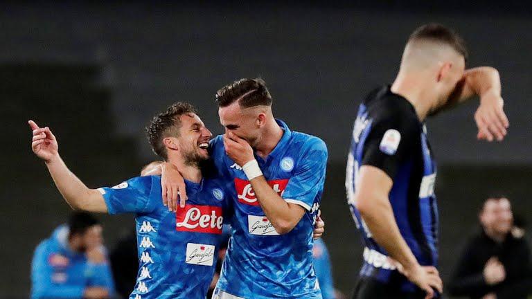 Inter Milan babak belur di kandang Napoli