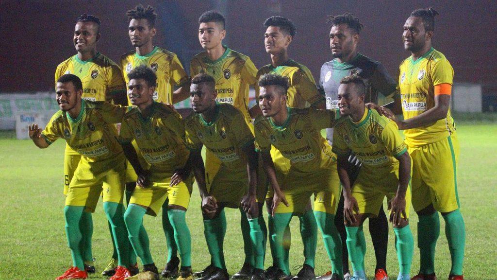 Persewar Waropen Pendatang Baru Liga 2 Punya Ambisi Menuju Liga 1