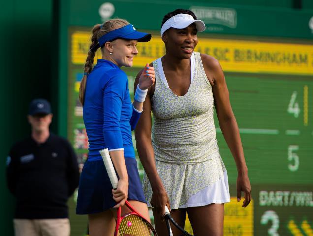 Nature Valley Classic : Venus Williams Bersama Rekannya Menyerah Kalah Di Babak Pertama
