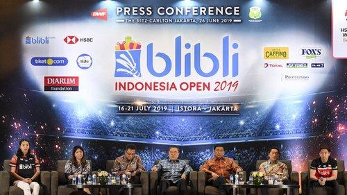 Ini Dia Jadwal Pertandingan Indonesia Open 2019, Catat Tanggal Dan Jamnya