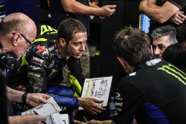 Valentino Rossi : Saya Lebih Lambat Dibanding Musim Lalu