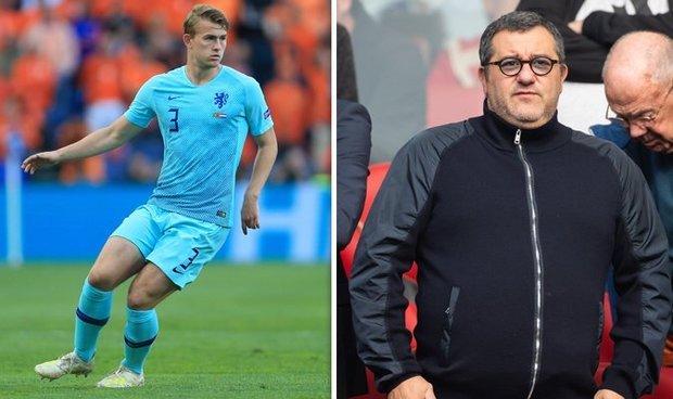 Matthijs De Ligt Sepakat Dengan Juventus Menurut Raiola