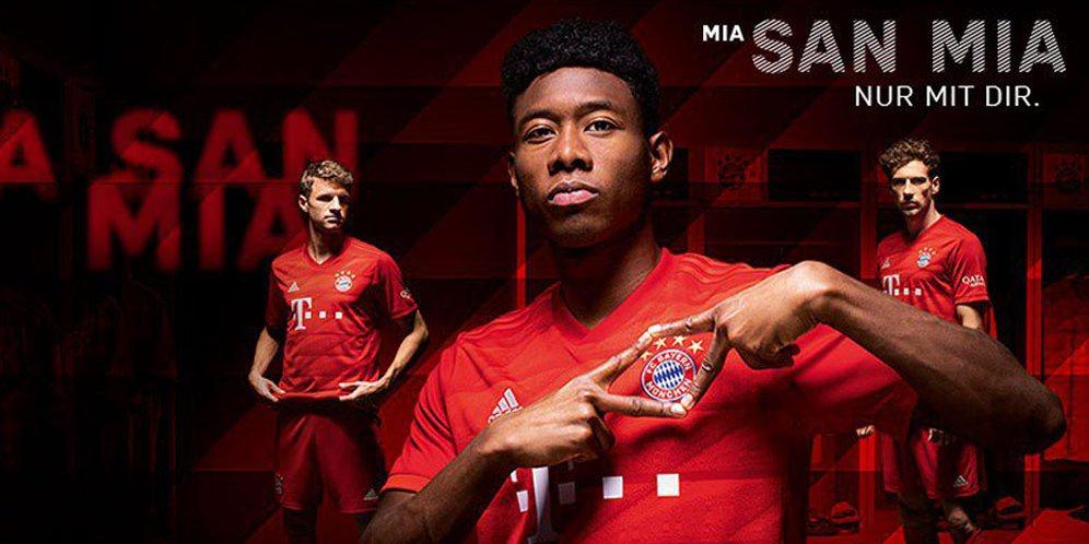 Jersey Bayern Munchen Musim 2019-2020