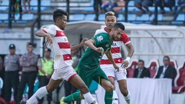 Prediksi Madura United vs Persija Jakarta 16 Agustus 2019, Sapeh Kerab Ingin Lanjutkan Tren Positif